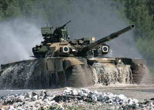 Пилотирование на танке
