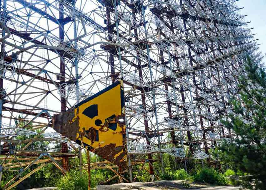 THE ARCH « RADAR» OR RUSSIAN WOODPECKER