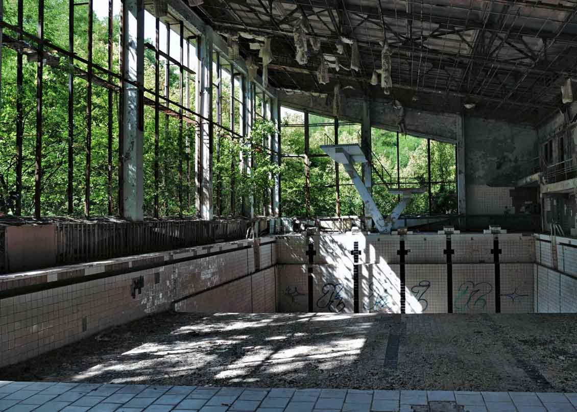 Pripyat, Swimming pool