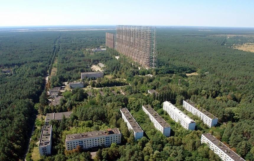 Над Чернобылем