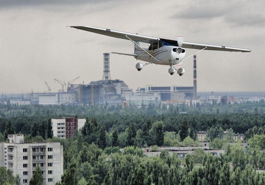 Авиатур в Чернобыль и Припять
