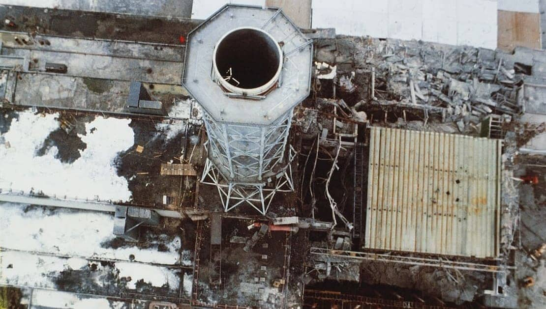 Взрыв Чернобыля