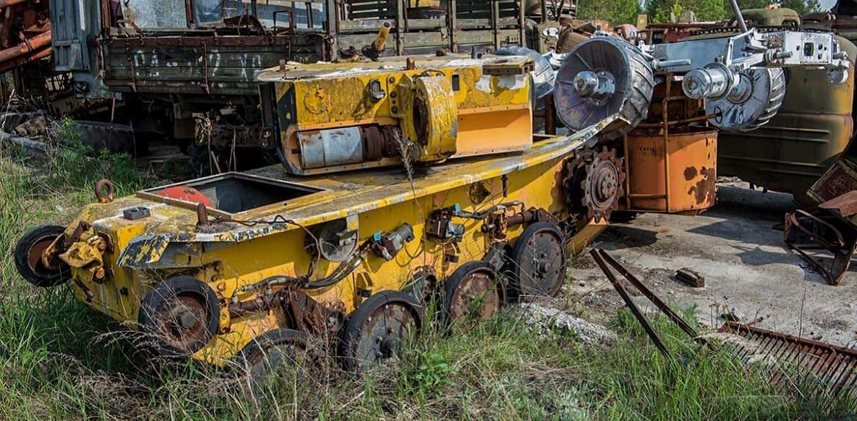 Robot likwidatora Czarnobyla
