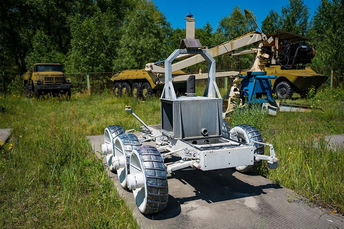 Excursions to Chernobyl: museum and history of robots that eliminated the Chernobyl accident