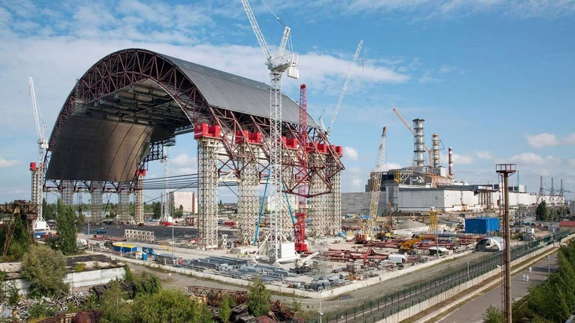 Excursion to Chernobyl: the Chernobyl nuclear power plant sarcophagus – an effective shelter from radiation