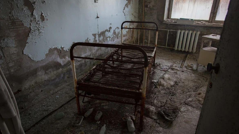 Abandoned medical unit