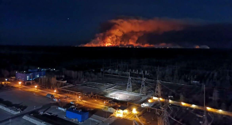 Пожежі в Чорнобилі