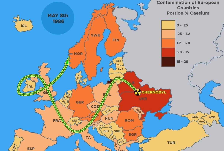 Экологические последствия Чернобыльской аварии