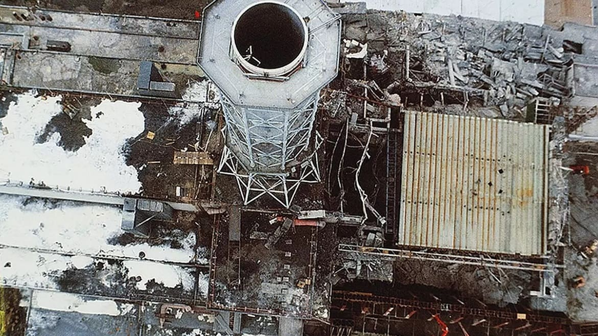 How much radiation was in Chernobyl during the disaster